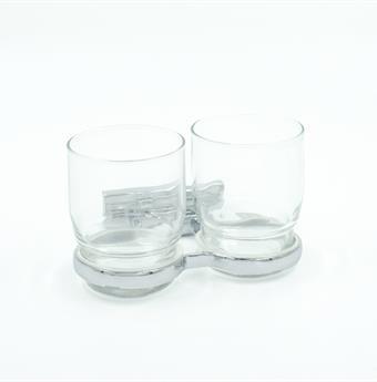 Bodenschatz Doppelglashalter CHIC, BA26VC115