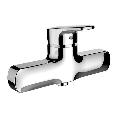 Duschenmischer CITYPRO AD 120 mm, Ecototal+, leer - chromeline