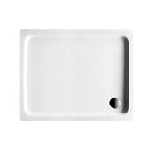 Duschenwanne DUSCHPLAN 100 x 80 x 6,5 cm, Stahl - standard