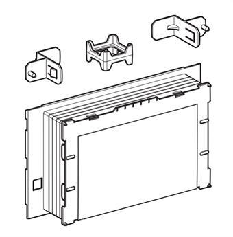 Rohbauset SIGMA60 zu Abdeckplatte Sigma60