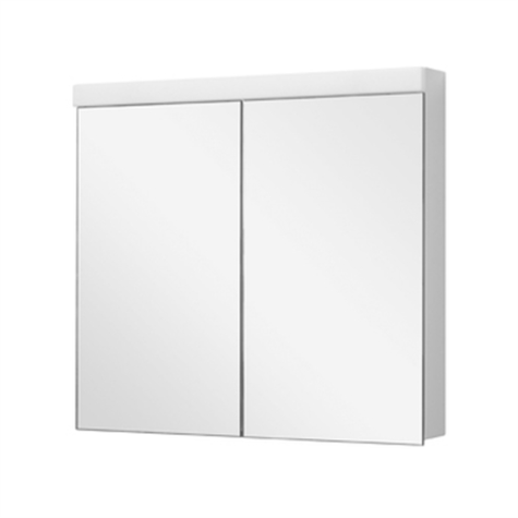 Spiegelschrank DUPLEX NEW LED 80 x 75,5 x 12,5 cm - standard