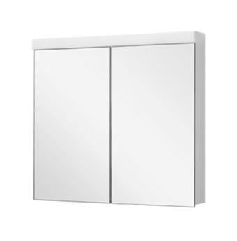 Spiegelschrank DUPLEX NEW LED 80 x 75,5 x 12,5 cm