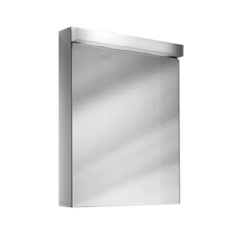 Spiegelschrank LOWLINE LOW 60/1/FL, Aluminiumprofil - standard