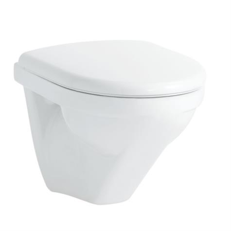 Wandklosett MODERNA R COMPACT UP, rimless, Keramik - standard