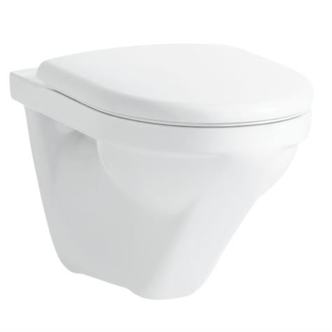 Wandklosett MODERNA R UP rimless, Keramik - standard