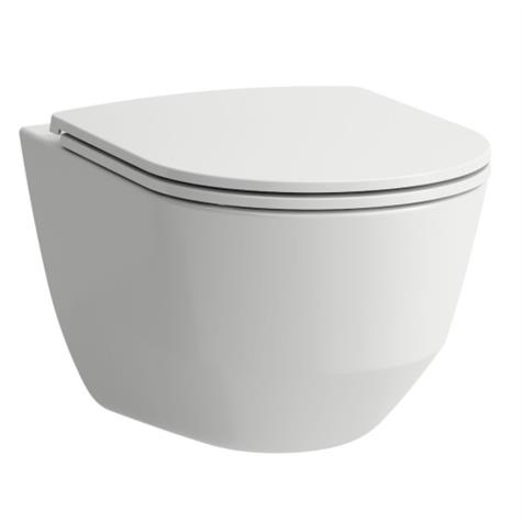 Wandklosett PRO UP rimless, Keramik - standard