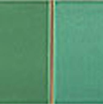 Wandplatte Listel Mosaik grün