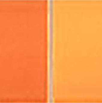 Wandplatte Listel Mosaik orange