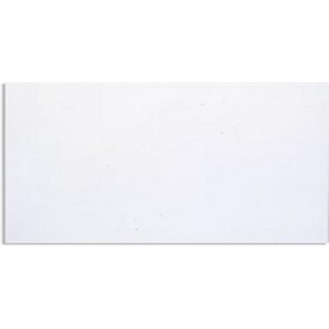 Wandplatte weiss matt 25x50